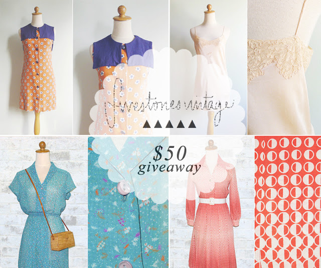 vintage shopping giveaway