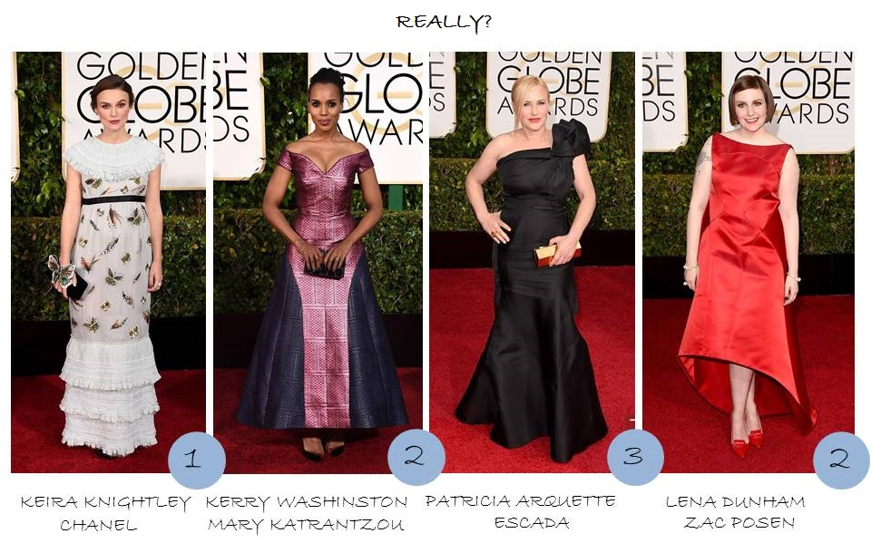 OnlyNess Golden Globes 2015 red carpet Globos de oro 2015