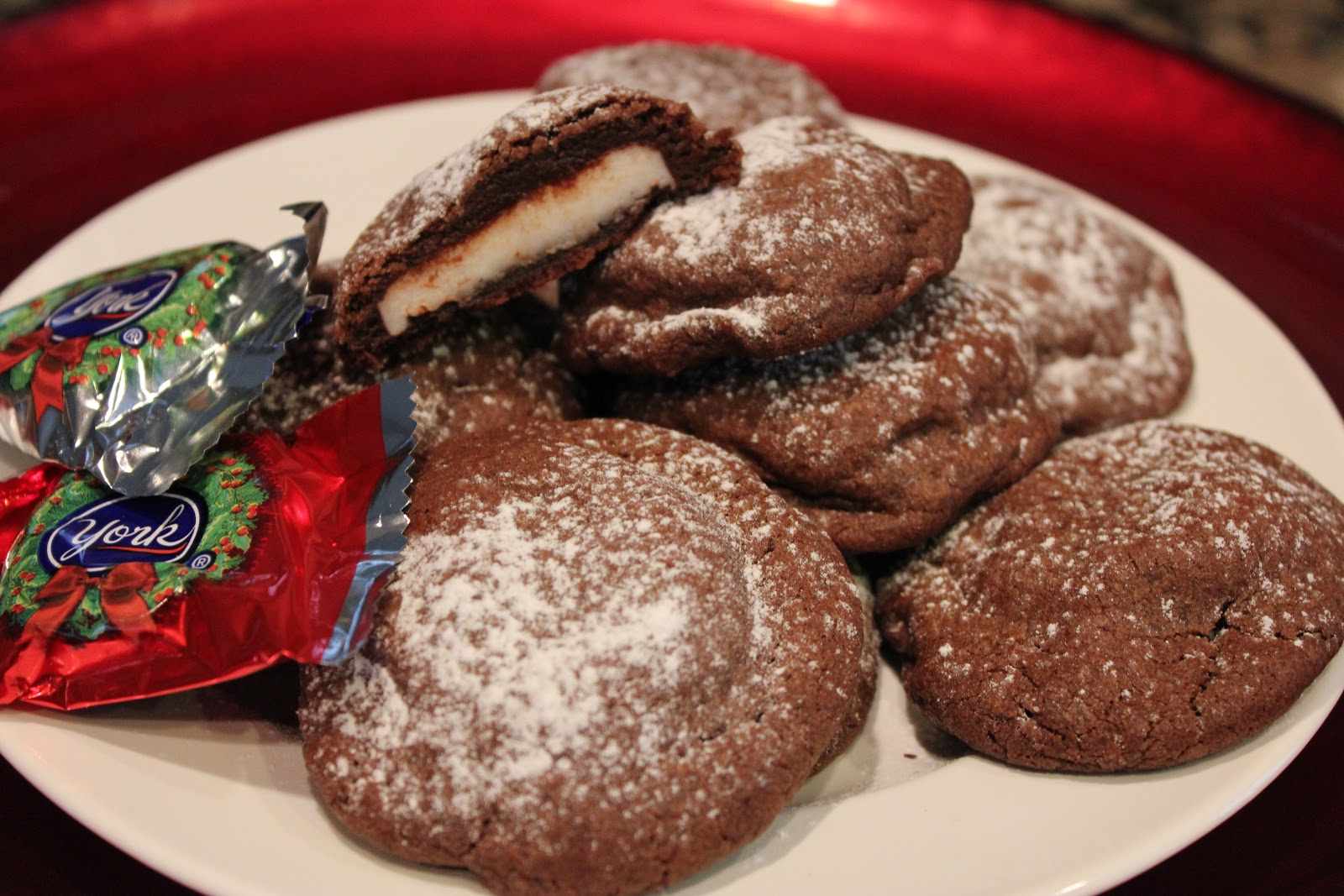 Chocolate York Peppermint Pattie Cookies – Dallas Duo Bakes