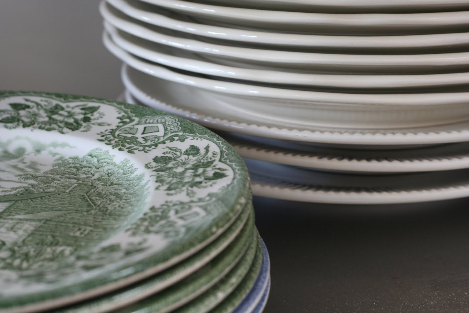 Some Home Truths: When Home is... Old Plates