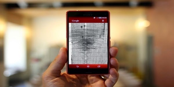 smartphones, seismometers, detection of earthquakes, gyroscopes,