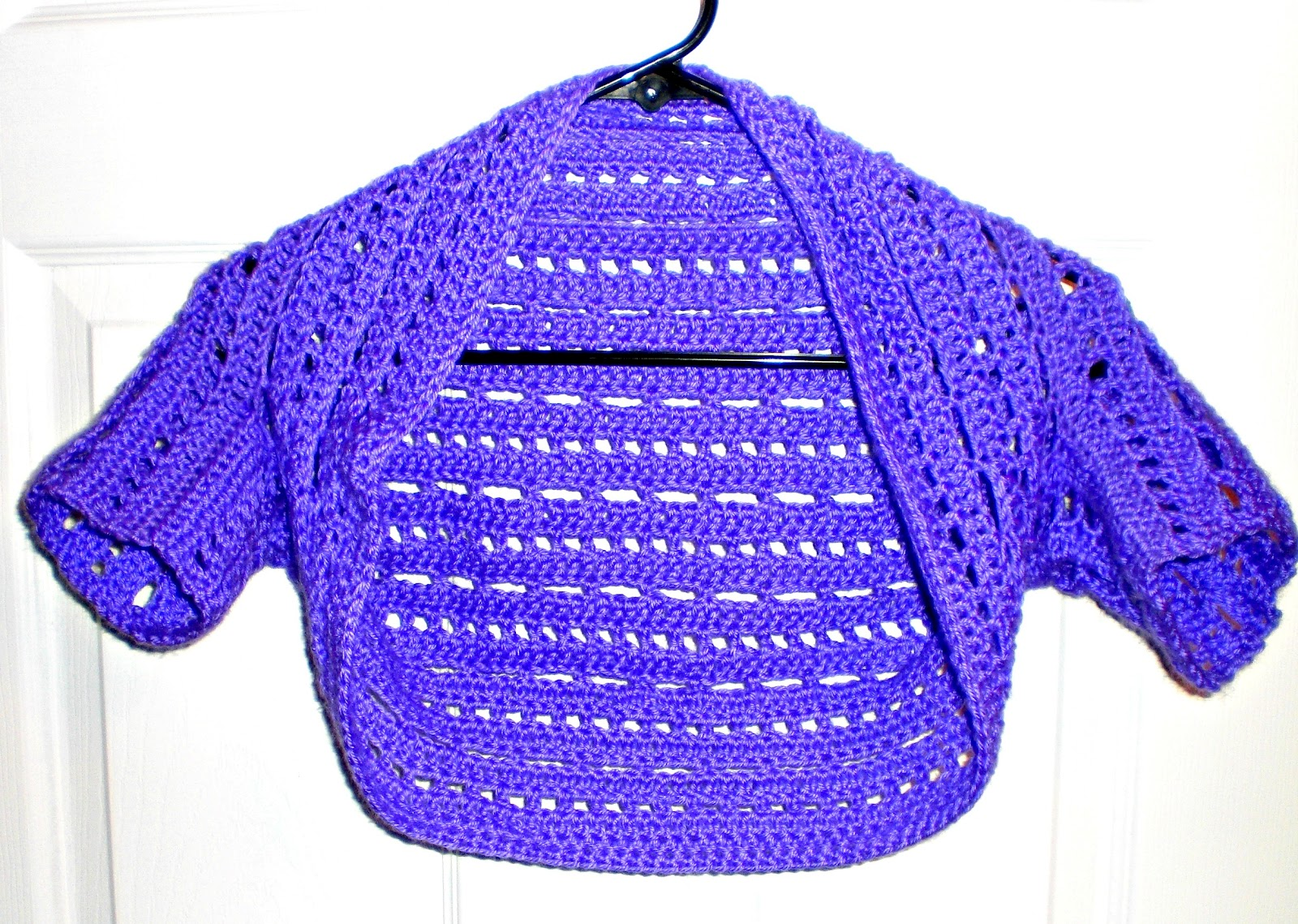 A Little Loopy, But I\'m Hooked: Dots and Dashes Bolero/Shrug