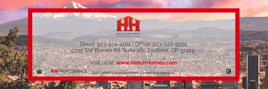 Portland, OR Real Estate Video Blog with The Hatch Homes Group