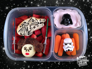 Star Wars easy kids lunch