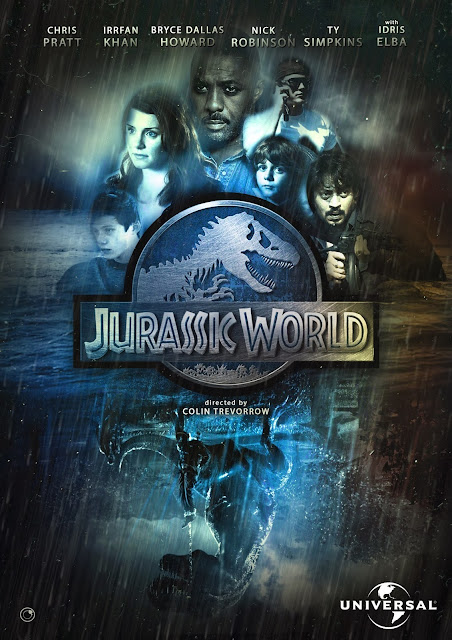 Jurassic World 2015 HDRip 1080p 1.4GB Subtitle Indonesia