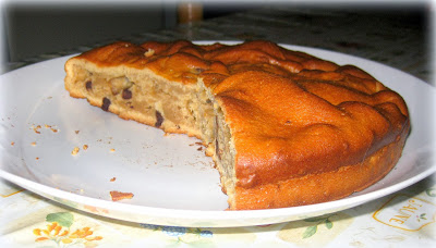 torta con patate americane e cioccolato