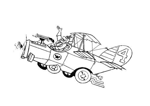 LAMINAS PARA COLOREAR - COLORING PAGES: Los Autos locos para dibujar ...