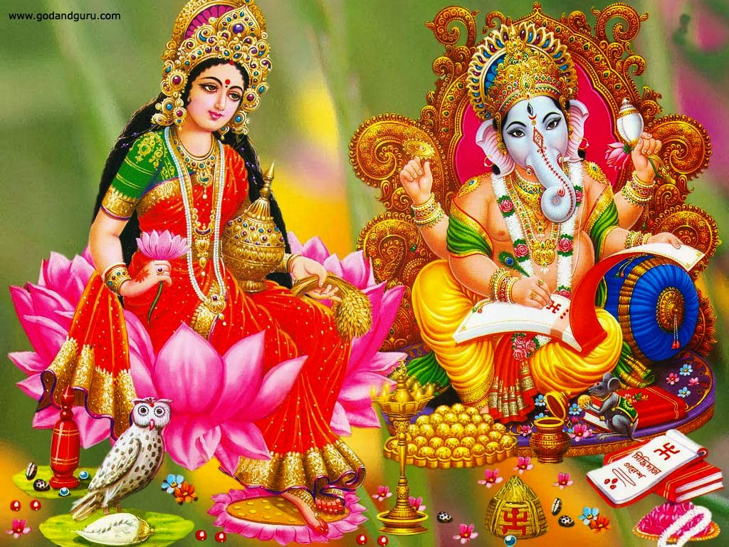 Lord ganesh laxmi saraswati wallpaper hd