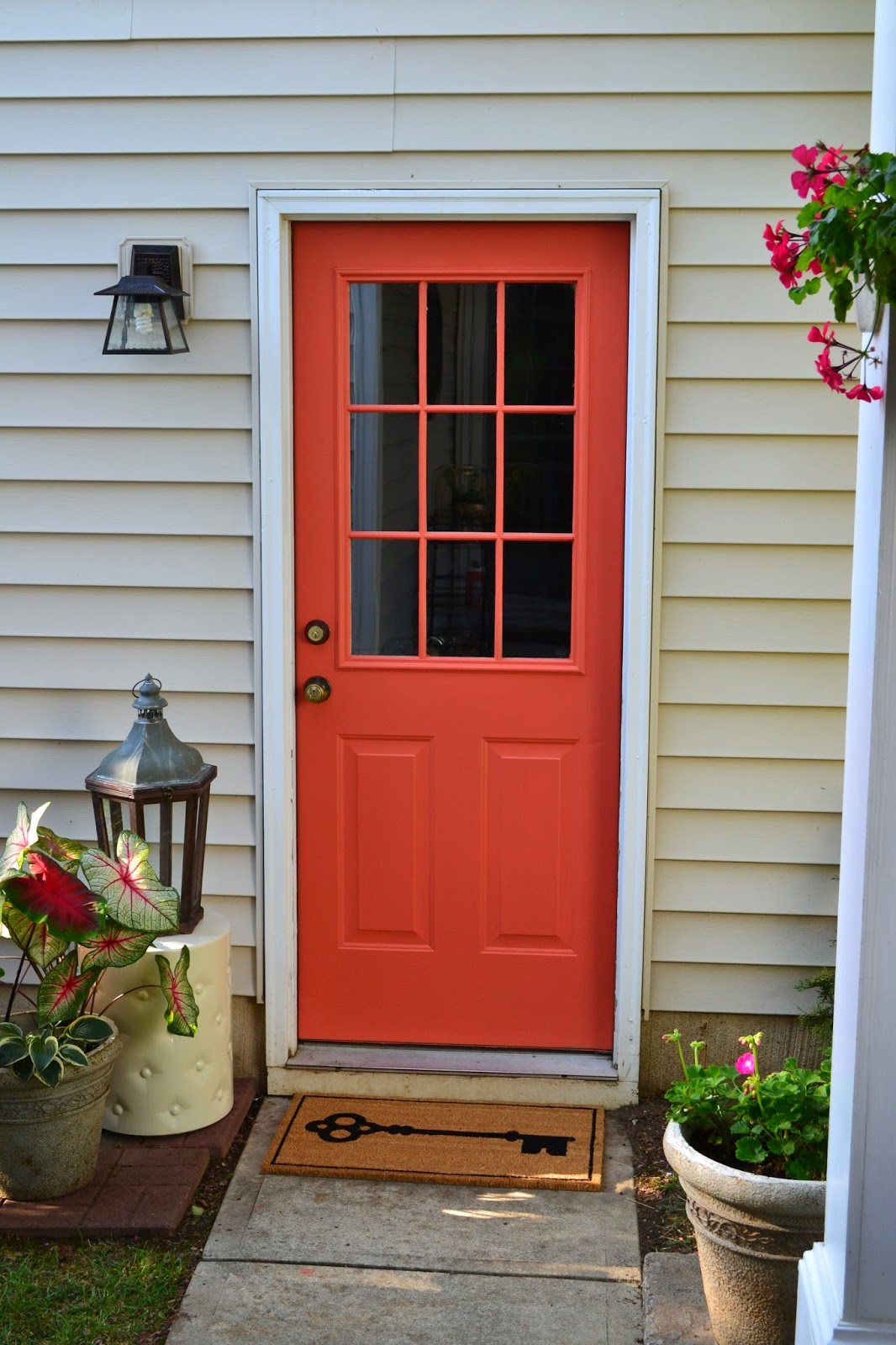 Dwell by cheryl front door paint for the back door for Exterior back doors for home