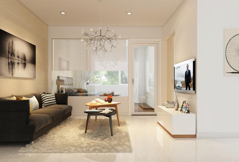 Thiết kế hiện đại tại căn hộ The Park Residence