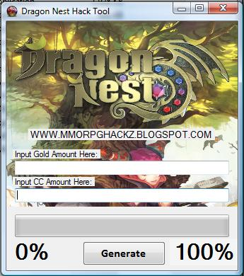 what dragon nest gold generator hack does this the latest version of