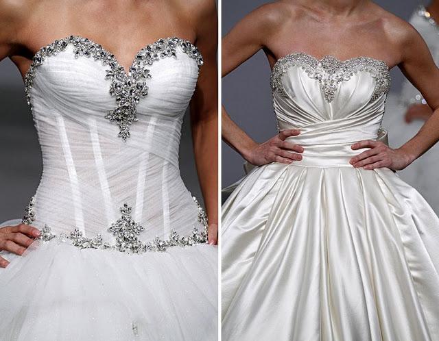 Inspiring corset wedding gown pnina tornai wedding for Pnina tornai corset wedding dresses