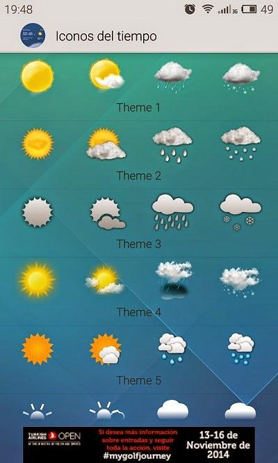 YoAndroideo.com: Transparent weather clock, un widget para de lujo para vuestro Android