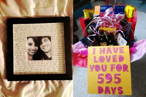 Imagenes con ideas de regalos para novios que cumplen meses a os de compromisos multimedia de amor - Que regalarle a tu novio en el primer mes ...
