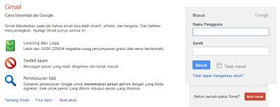 Infokus - Start Up Gmail