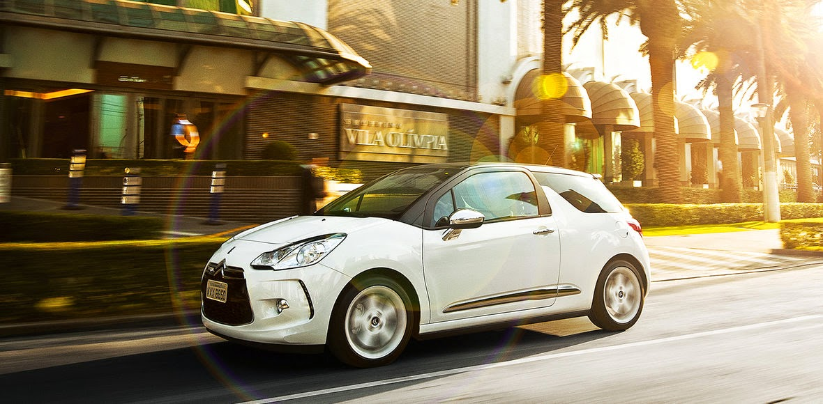 citroen ds3 AIRBAGS E FREIOS ABS