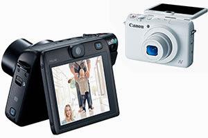 Canon PowerShot N100 wireless camera