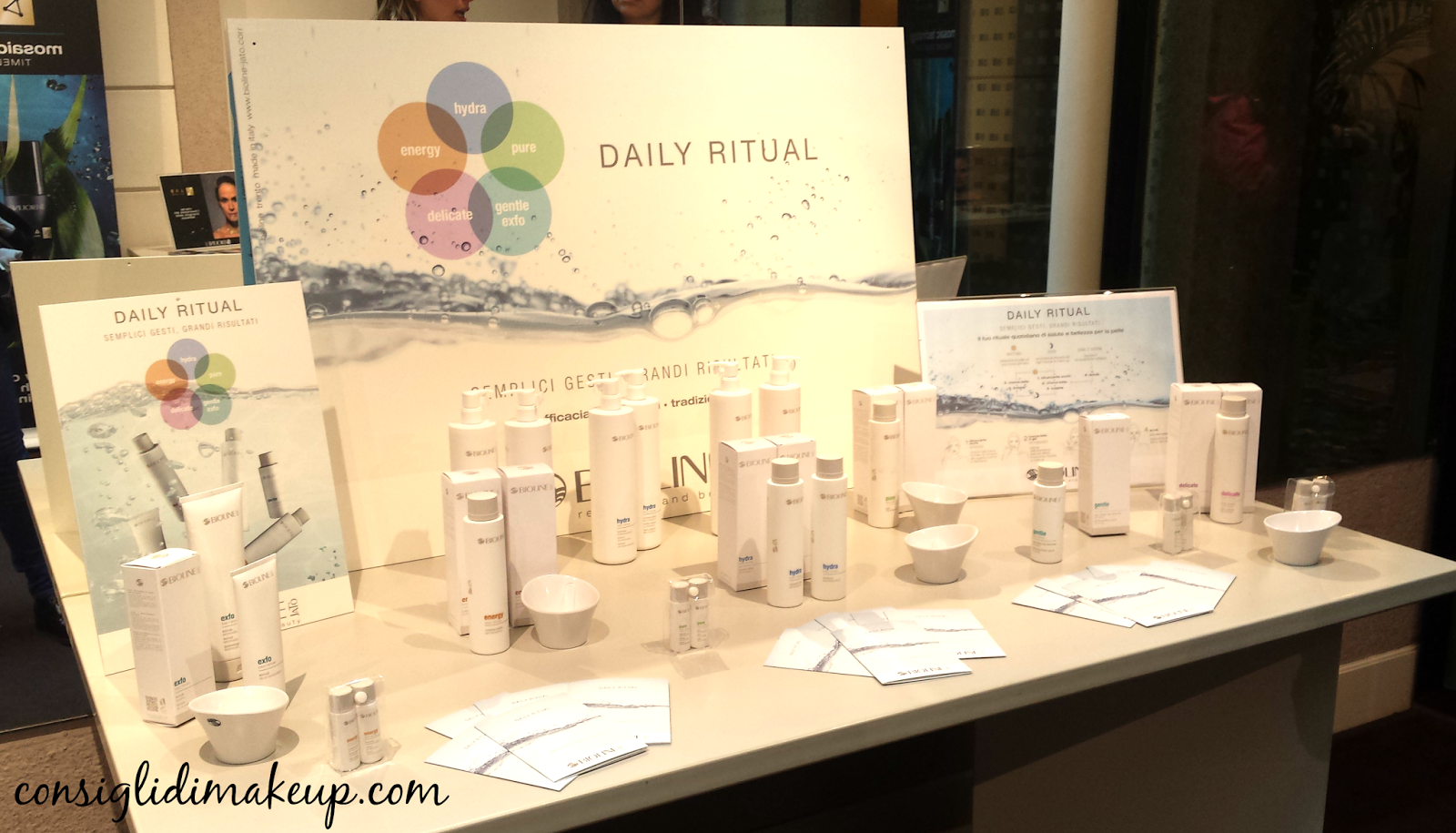 Press day Bioline Jatò: novità viso Daily Ritual & Age Beauty Secret