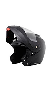 Amazon : Buy Vega Crux Flip-up Off-road look Helmet (Black, L) at Rs.1,054 only – Buy to earn