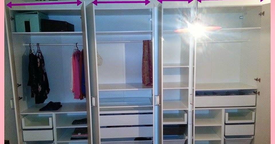 Jesmina Testet Ikea Pax Kleiderschrank Unser Aufbau Und