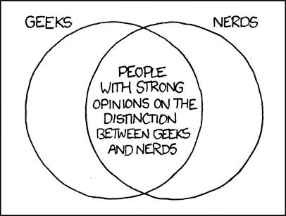 distincao entre nerds e geeks