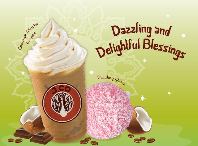 Dazzling and Deligtful Coconut Mocha Frappe