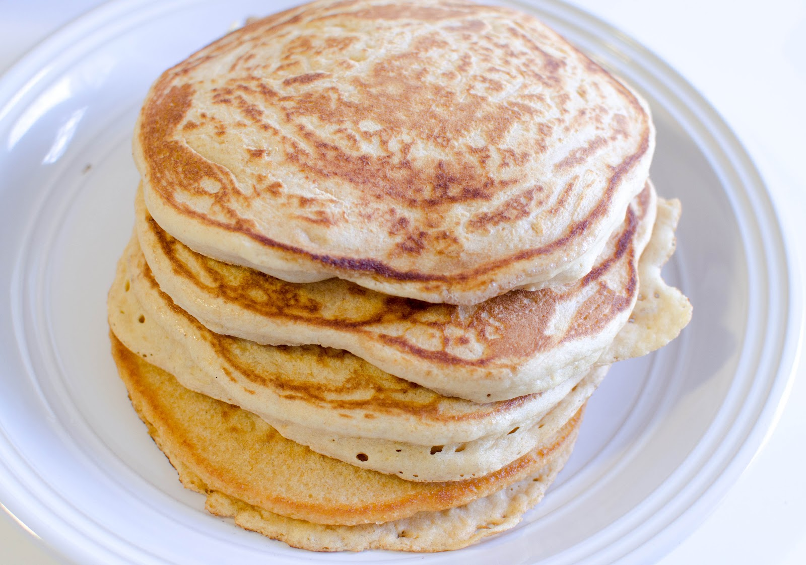 Fabulous Foods!: Fluffy Whole Wheat Pancakes