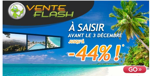 Vente flash GGo Voyages