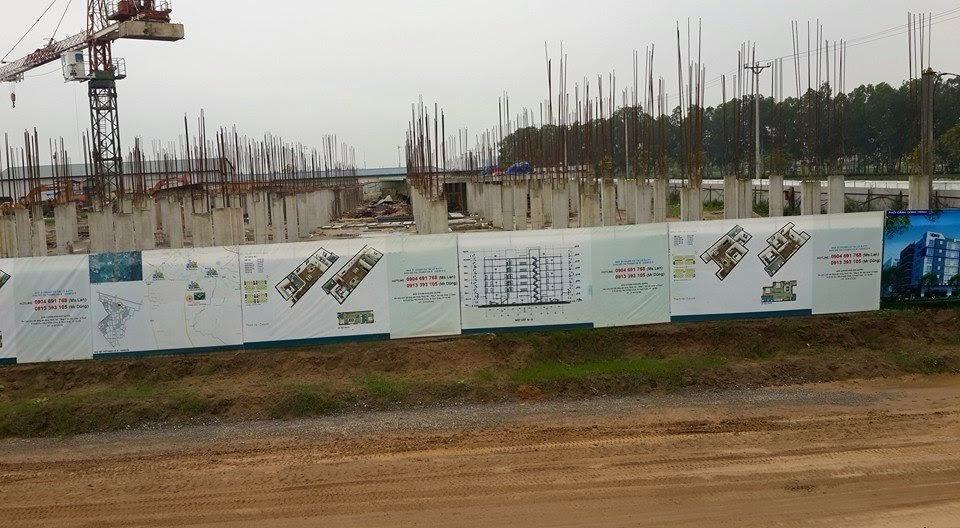 Tiến độ thi công dự án chung cư Thanh Hà Cienco 5 Hà Đông