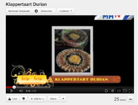 Liputan Durian Klappertaart di MHTV