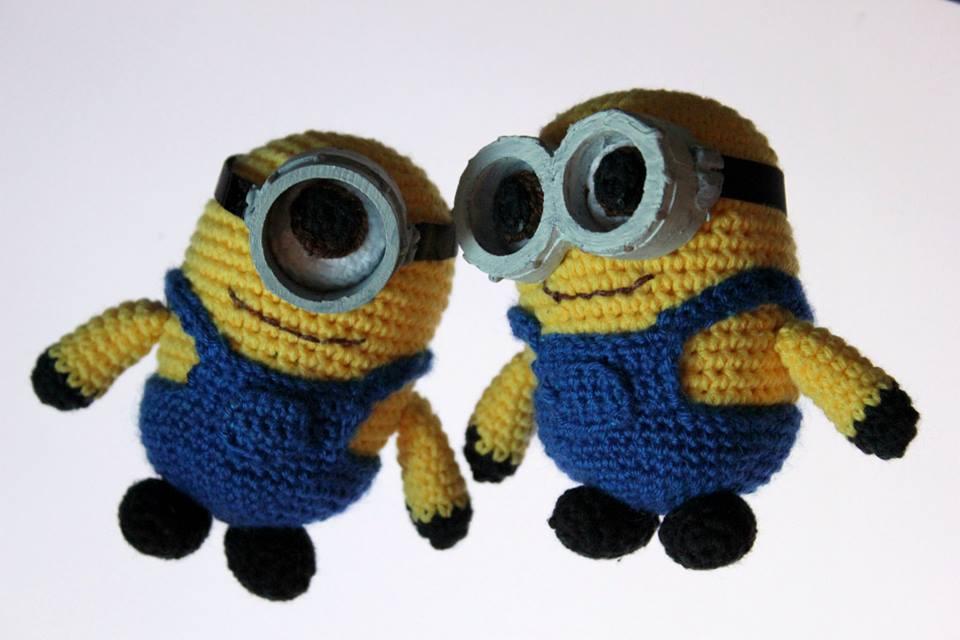 Amigurumi Ojos Minions : ArtesanDroides: Amigurumi Minions