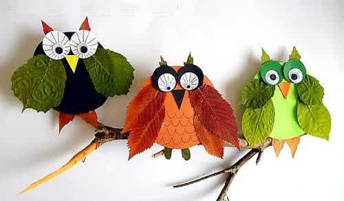 Fall Leaf Craft Ideas Simple Origami For Kids