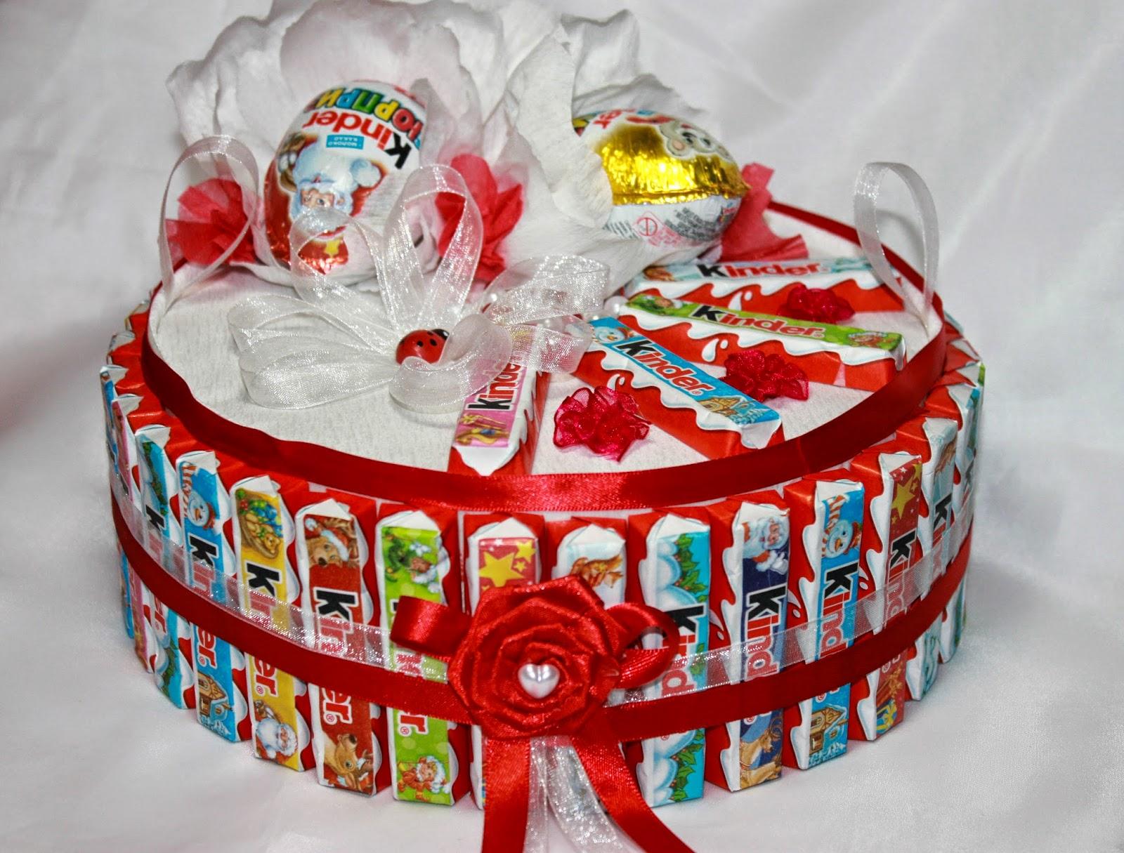 Сладкие подарки из конфет и шоколада 27