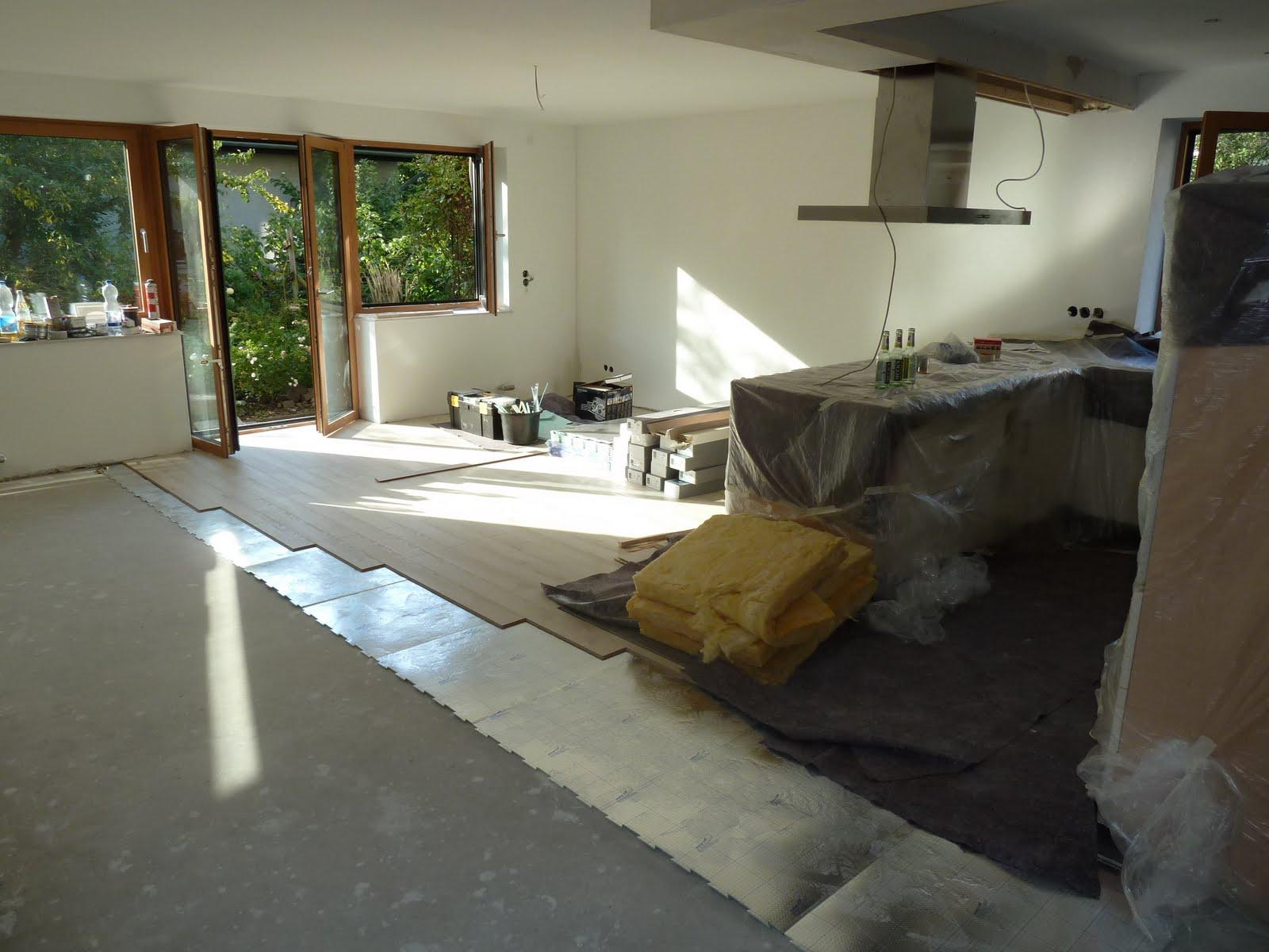 nina und heiko bauen um das licht am ende des ersten tunnels. Black Bedroom Furniture Sets. Home Design Ideas