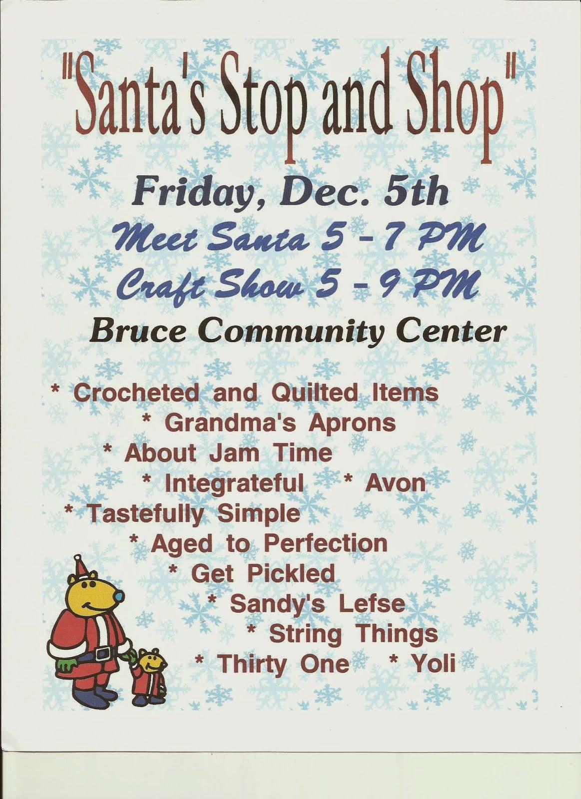 Santa and Shop!!