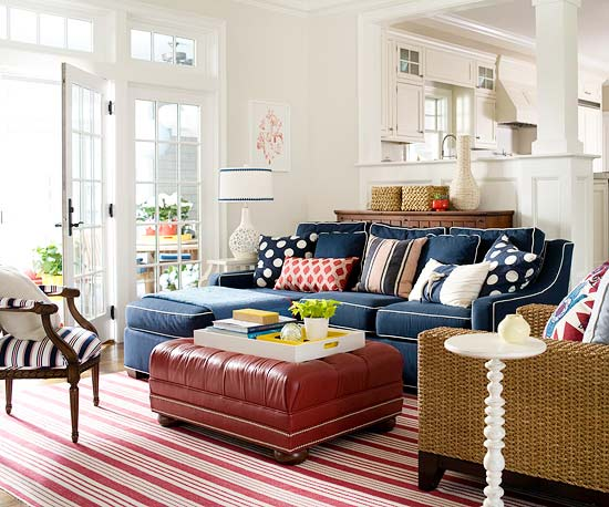 2012 Blue Decorating Design Ideas
