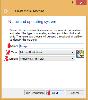 Oracle VM VirtualBox Manger