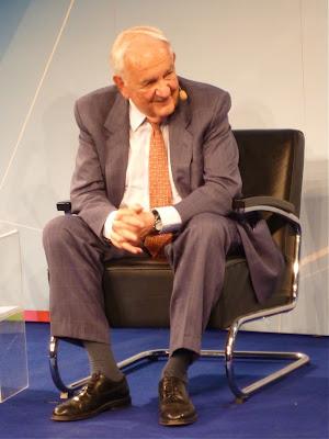 Alfred Grosser im ARD-Hauptstadtstudio