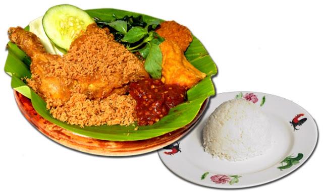 Nasi Ayam Penyet Asli Yang Sedap