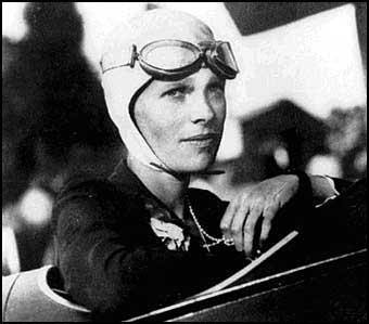 Amelia Earhart Biografi