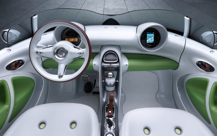 Smart Concept Electric Forspeed Interior