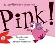 Portada Llibre infantil Pink, el pingüí que es va tornar rosa