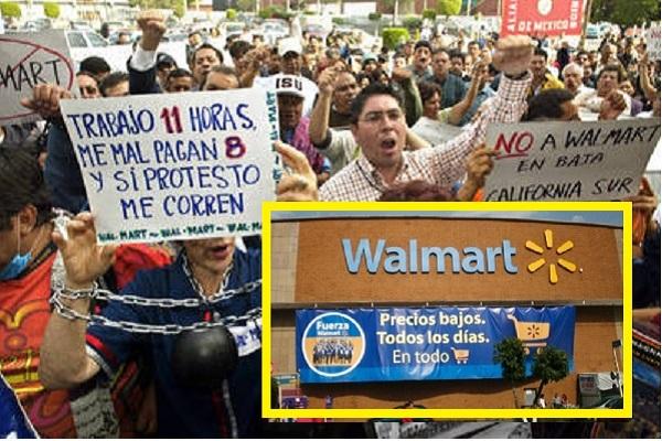 Walmart el rey de la esclavitud, pero se toparon con pared en 4 ...