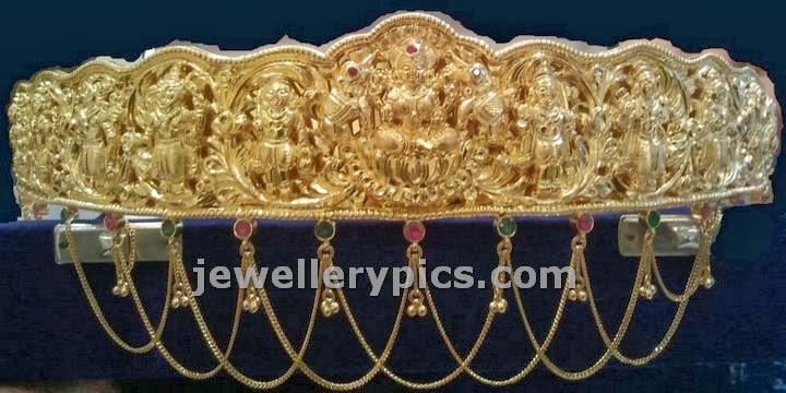 nagas vaddanam from srimahalaxmi jewellers