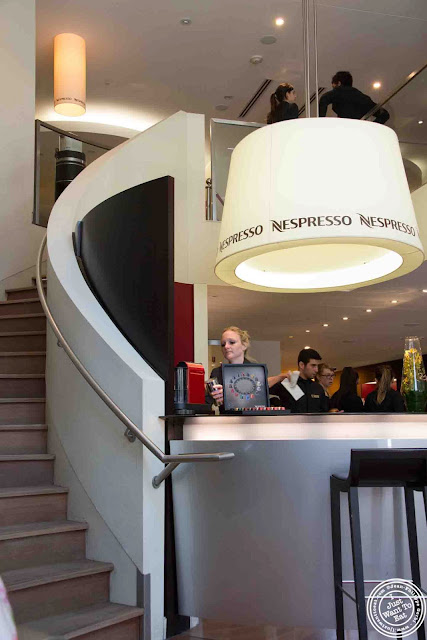 Image of Nespresso boutique in Montreal, Canada