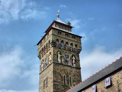 Torre del reloj del Castillo de Cardiff