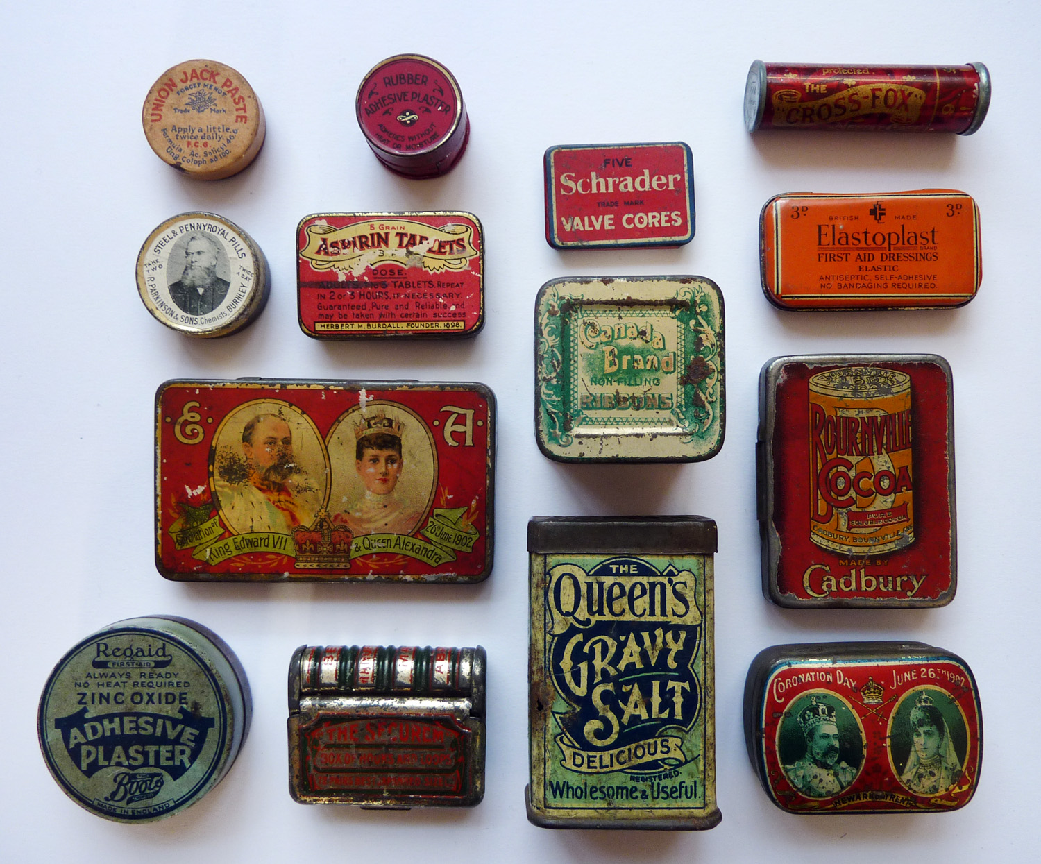 turning pages vintage tin cans from the uk
