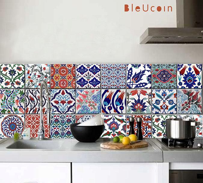 Milowcostblog casas de alquiler cocinas - Tapar azulejos cocina ...