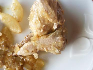 Crema fr a de alubias blancas con escabeche de codorniz - Alubias con codornices ...
