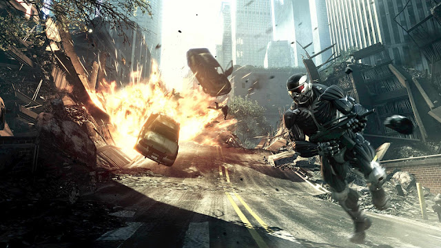 Crysis Game Explosion